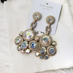 Kate Spade Absolute Sparkle Drop Earrings NWT